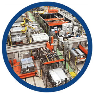 Machine voor het lassen van losse onderdelen