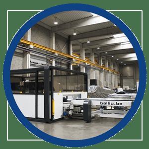 Balliu Laser machine Brazilië Brasil Machine voor het snijden van vlak & buismateriaal met een CO2-laser