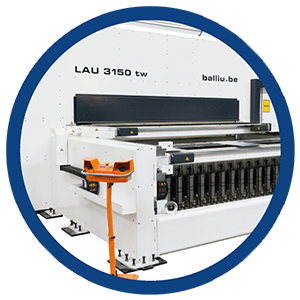 Balliu Laser machine Ohio Amerika America Machine voor specifieke ablatieprocessen
