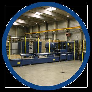Balliu Laser machine Washinton Amerika America Machine om titanium buizen te snijden voor de ruimtevaartindustrie